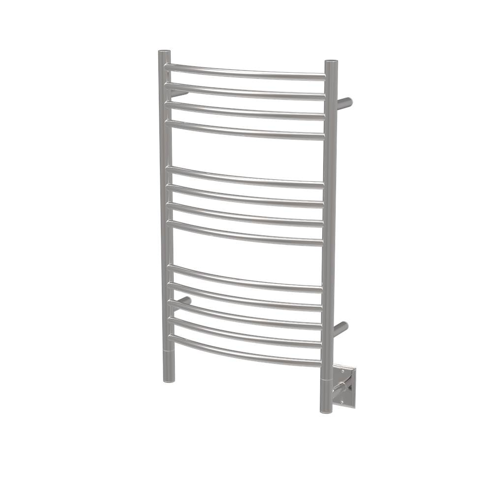 Amba Products Amba Jeeves 20-1/2-Inch x 36-Inch Curved Towel Warmer, Polished