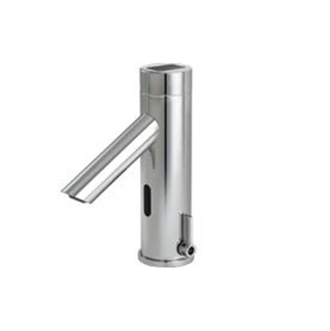 Delta Commercial Commercial DEMD: Electronic Solar Bathroom Faucet with Side Mixer