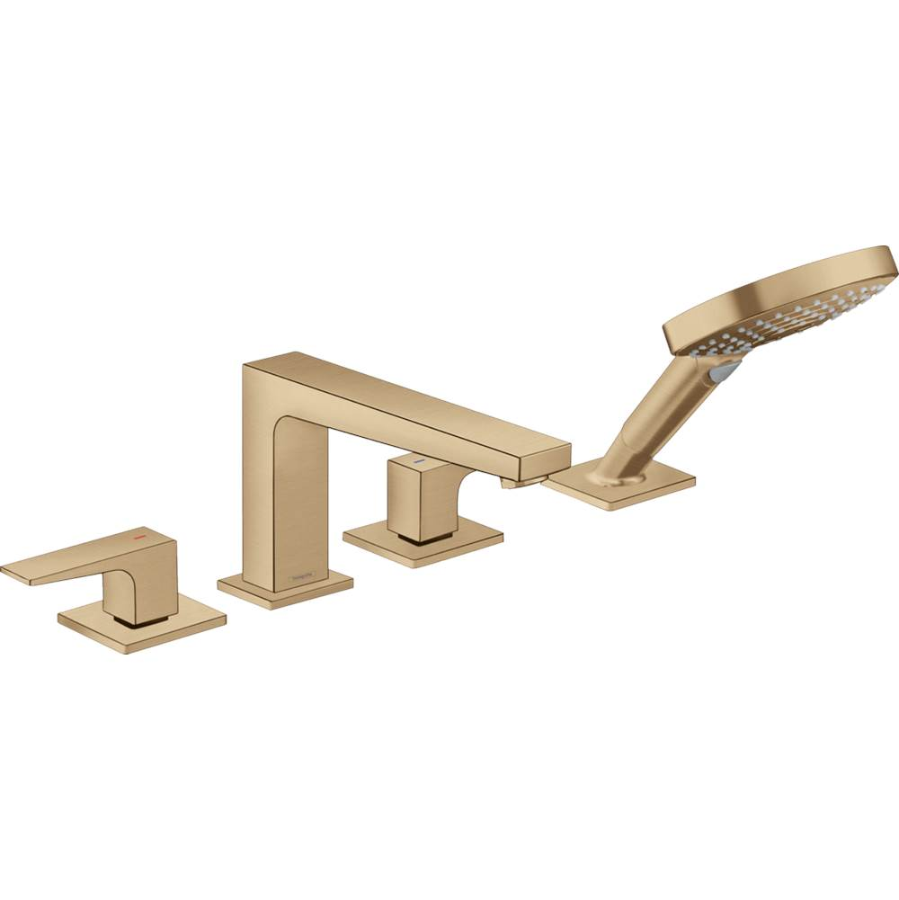 Hansgrohe Hg Metropol 4H Bm Zh.W/O1.8Gpm In Brushed Bronze