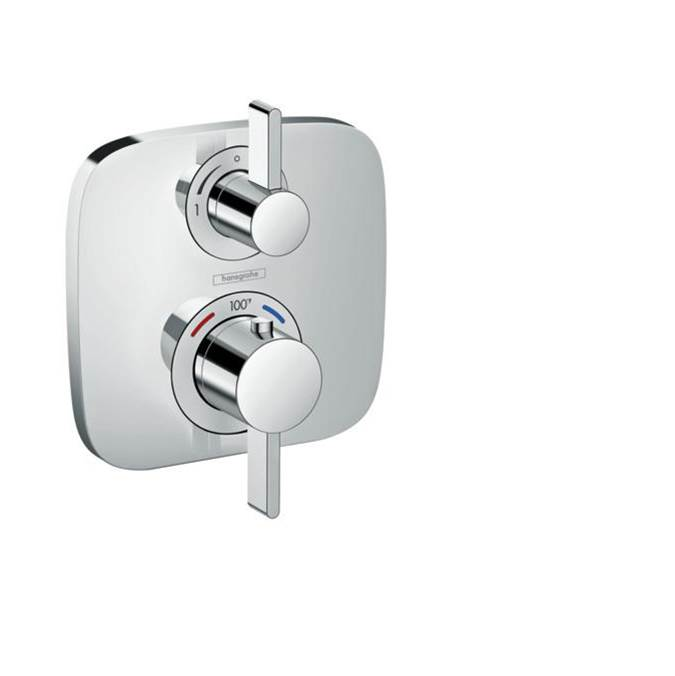 Hansgrohe Ecostat E Thermostatic Trim With Volume Control In Chrome