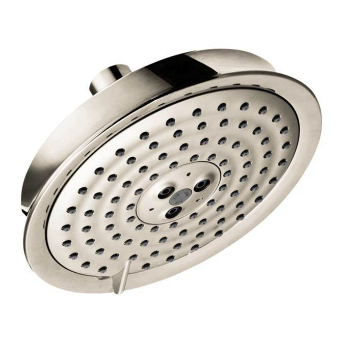 Hansgrohe Raindance Classic Showerhead 150 3-Jet, 2.5 Gpm In Polished Nickel
