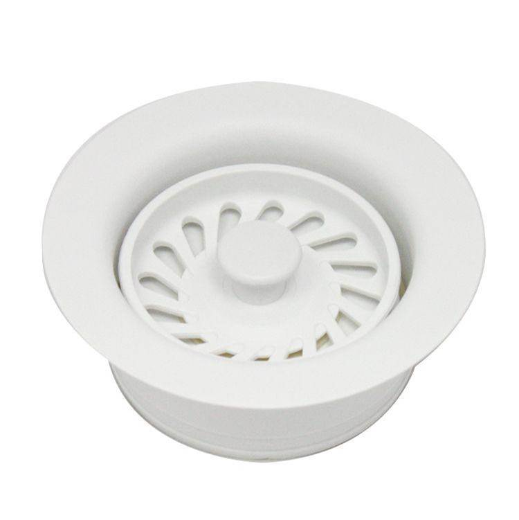 Luxart ISE Celcon Disposal Flange with Strainer/Stopper