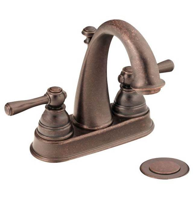 Moen Oil rubbed bronze two-handle bathroom faucet