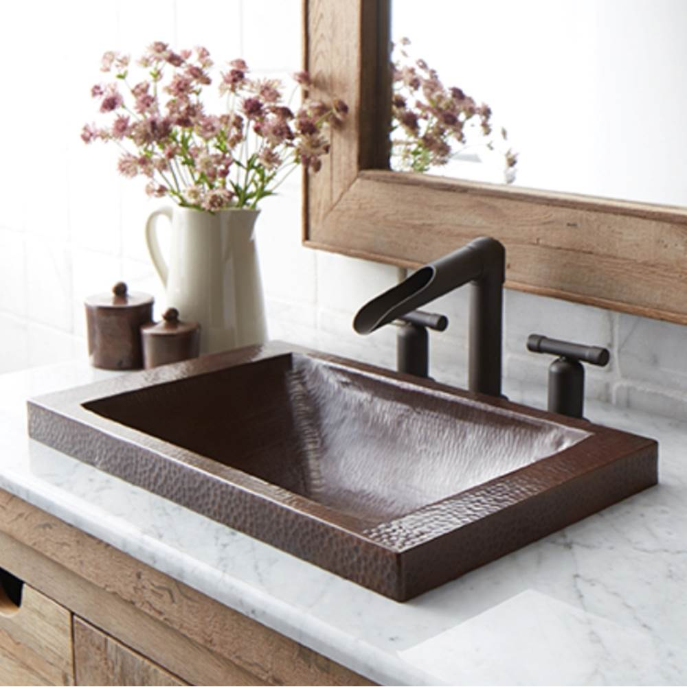 Native Trails Hana Bathroom Sink in Antique Copper