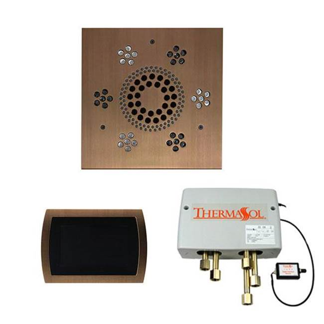 Thermasol The Wellness Shower Package with SignaTouch Trim Upgraded Square Oil Rubbed Bronze