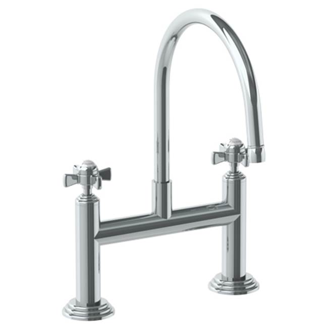 Watermark Deck Mounted Bridge Kitchen Faucet