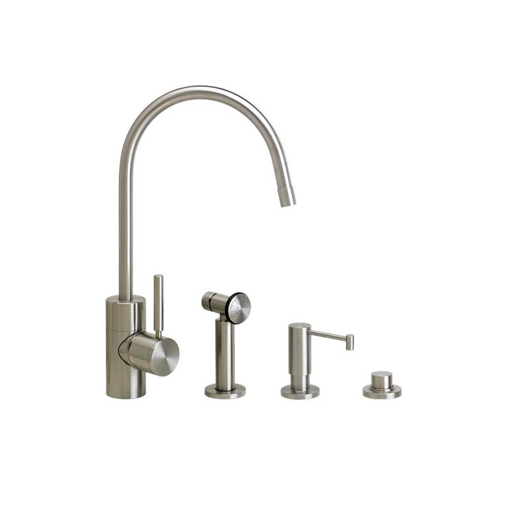 Waterstone Parche Kitchen Faucet - 3Pc. Suite