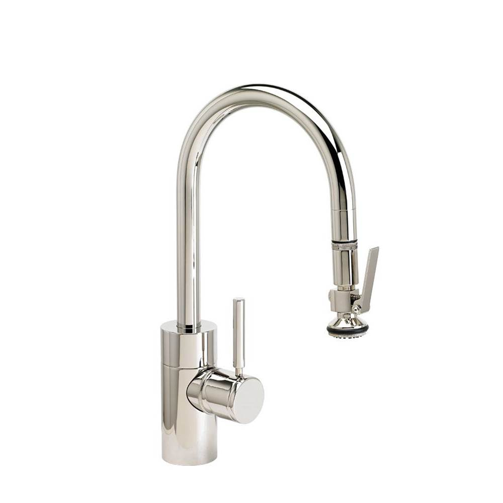 Waterstone Contemporary Prep Size Plp Pulldown Faucet - Toggle Sprayer